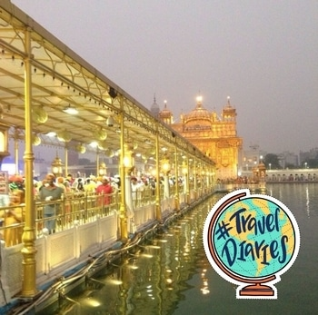 One of the most beautiful places! #amritsar#goldentemple #traveldiaries