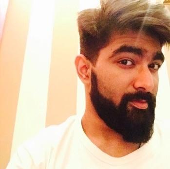 Life isnt perfect , But your hair can be !! #mysummerhair #roposo #soroposo #roposolove #hairstyle #look #summerlook #beard #beardedmen #haircut #fashion #mensfashion !!