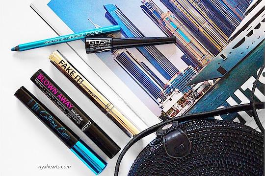 @gosharabia goodies ✨ #makeup #eye-makeup #eyeliner #ropo-makeup #flatlay #flatlayoftheday #mascara