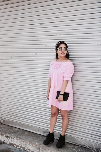 """// TASTE OF PINK // . . """"You can never go wrong with a little pink ... a lot works too """" . . Picture Credits : @the_harshit_saini . . #popxoblognetwork  #POPxoBlogger #ootd #outfitoftheday #lookoftheday #fashion #fashiongram #style #love #beautiful #lookbook #wiwt #whatiwore #whatiworetoday #ootdshare #outfit #clothes #wiw #mylook #fashionista #todayimwearing #instastyle #instafashion #outfitpost #fashionpost #todaysoutfit #fashiondiaries #tooomuchjazz #roposo #roposogal #roposolive #roposolove #roposoblogger #roposobloggerawards #roposobloggerdiary #roposofashionblogger #soroposofashion #roposotrends #roposopic #roposofashionista  #internationalfashion #pink  #fashionblogger #celebrityfashion"""