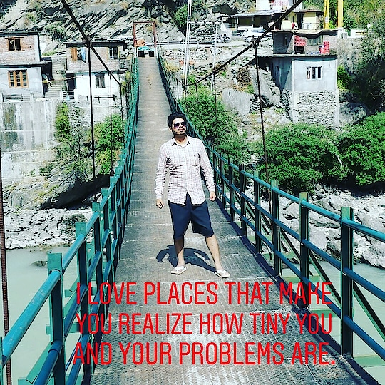 I LOVE PLACES THAT MAKE YOU REALIZE HOW TINY YOU AND YOUR PROBLEMS ARE.  Let's be friend on Instagram Snapchat Twitter Roposo @AamirMudassir Facebook @AamirVlogger #YouTube (The Liberal Indian)  #AamirMudassir #YouTuber #DelhiYoutuber #Viner #Prankster #Entertainer #TheLiberalIndian #TLI #youtubeindia #ytcreatorsindia #travlersnotebook #travel #travelforlife #hills  #nature #naturephotography #naturequotes