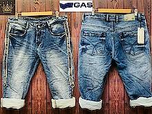 Gs *GAS*  Half stripe with bukkle   New design *Denims* *HEAVY QUALITY * 😎😎😎 * DENIM FOR HIM* Regular fitt 😀😀😀😀 Chk quality 😈😈😈😈😈  *SIZE 30 to 36*  *950+$  😎😎😎😎😎😎