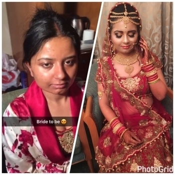 About yesterday My happy bride 😍😍 #mathurabride #prettybride #amazingtransformation #cutesmile #weddingoutfit #weddingjewelry #happybridesaretheprettiest #redisthecoloroflove #ddaydress #darksmokeyeyes #deepredlips #thenewlorealLEgoldlipstick #lashesonfleek #browshaping #contouringtothepoint  #Ddayspecial #weddingseason #weddingseason2k17 #hereabridethereabrideeverywhereabride #myroposostory #myroposobride #roposofun #roposobride #roposogal #roposo-makeupandfashiondiaries #muaforlife #lovemywork #followforfollow #followmeformore  🤗🤗  Bookings open for the season Call or whatsapp for weddings and photoshoots-9899992189/9650687871(whatsapp)