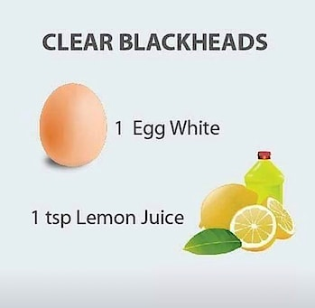 #facepack for clear #blackhead #DIY #naturalskincare #musttry