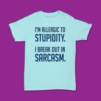 Can't live without Sarcasm? We have the perfect t-shirt for you! Shop this at www.printoctopus.com for just ₹599  #ootd#women#outfit#outfitoftheday#insta#instagirl#girlfashion#women#womenfashion#fashion#fashionista#gifts#tv#tvshows#giftsforher#model#happy#beauty#cool#menonroposo#sarcasm#ootd#delhi#giftsforhim#ropolove#ropofashion#roposing#roposofashion#roposostyle#stylefile#cute#funny#ropowoman#ropogirl