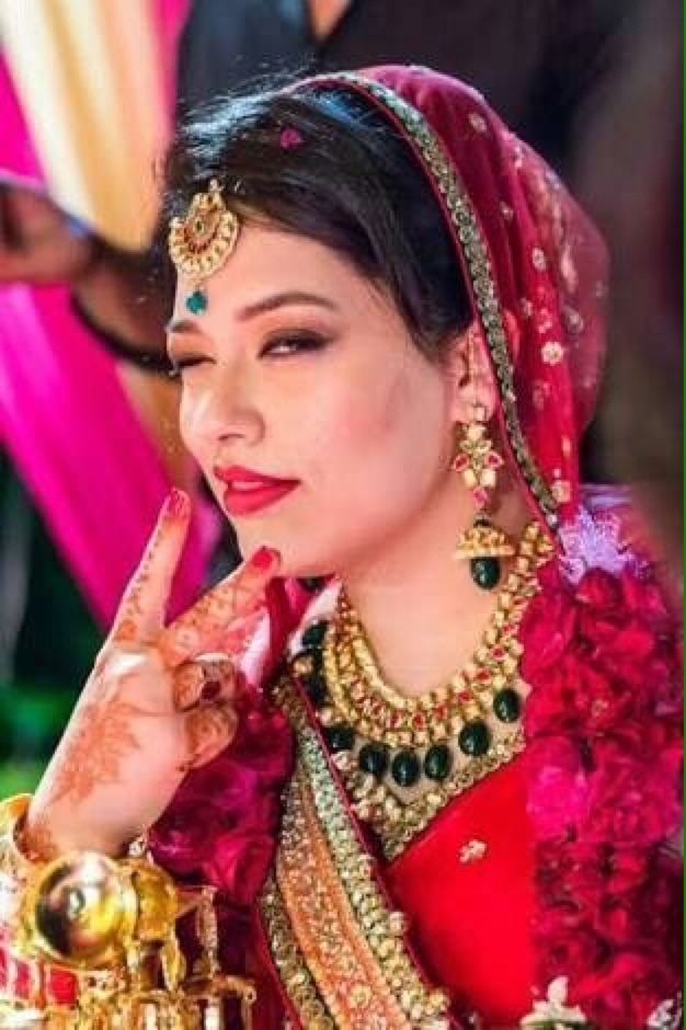 #roposotalenthunt #talenthuntroposovotes #happyfaces #prettyforever #happybridesaretheprettiest #all girls are feel happy when they become bride and it's awesome feeling of life.😍😍😍😍😍