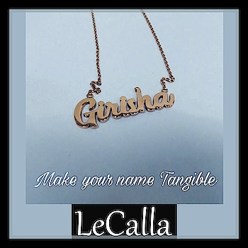 Personalised Pendant, Make your name tangible. DM for more details, www.lecalla.in   #LeCalla #dmfordetails #personalised #silver #jewellery #namependant #silverjewelry #rosegold #photooftheday #personalizedgifts #Partywear #trendyjewelry #unique #ootd #dailywear #dailylook #dmfordetails #musthaves #womensfashion #instagood #instalove #instajewellery #roposo #roposolove #roposotalks
