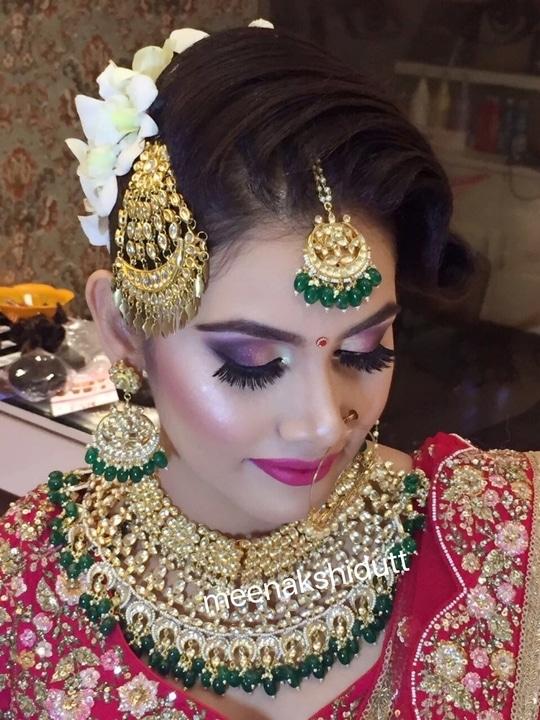 Bridallook at #meenakshiduttmakeoversdelhi #makeupartistdelhi #makeupartistindia #makeup and eyes makeup #bridalmakeup #indianmakeupartist #indianmakeup #bridalspecialist