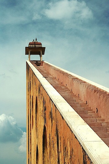 The #JantarMantar in #NewDelhi consists of 13 #architectural #astronomy instruments.  Image via Incredible Pictures #heritage #wow #amazing #travel #travelbug #instatravel #wanderlust #see #gameoftones #incredibleindia #photography #photooftheday #india