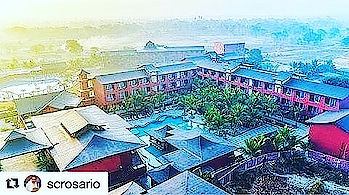#Repost @scrosario with @get_repost ・・・ Redefining luxury, just 10 kms outside of Thane!!! With 101 tastefully appointed rooms and suites along with 2 AC Banquets, 3 sprawling lawns and a Club house with Indoor Games, VR Games and an outdoor games arena; add to that 2 sprawling swimming pools with a sunken bar - Need we go on!!! Come home to luxury and bliss - Come home to Saya!!! #sayaclubandsparesort #sayaresort #nomadlife #gypsysoul #wanderlust #upperthane