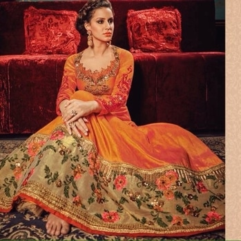 Orange Heavy Heavy Party Wear Anarkali Suit Product code - FCL570  Available at www.fashionclozet.com  Watsapp - +91 9930777376 Email -  info@fashionclozet.com Or DM for enquiries.  #weddingdress #bride #beautifulldress #designerdresses #designerwear #sharara #lengha #saree #florals #silk #cape #capedress #wedding #indianweddings #bollywood #bridal #indianwear #clothing #asianbride #indianbride #bridalmakeup #fashionclozet #fashionista #mehndi #wine #ramadan #pakistanitrends #eid #offshoulder #palazzo
