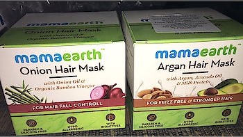 #newproducts#hairmask#mamaearth#natural#parabenfree#sulphatefree#naturalhair#amazingproducts#lovedit❤️