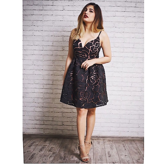 Black with traces of pink #❤️#roposolove #soroposo #roposostyle #style #fashion #roposofashion