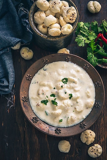 Phool makhana raita, a #nutritious & #crisp #recipe for navratras. PC: WhiskAffair food #yumm #eat #delicious #India #incredibleindia #indianfood #foodporn #foodie #chefmode #photooftheday #dinner #tasty #festival #navrati #happynavratri #happynavratri2019