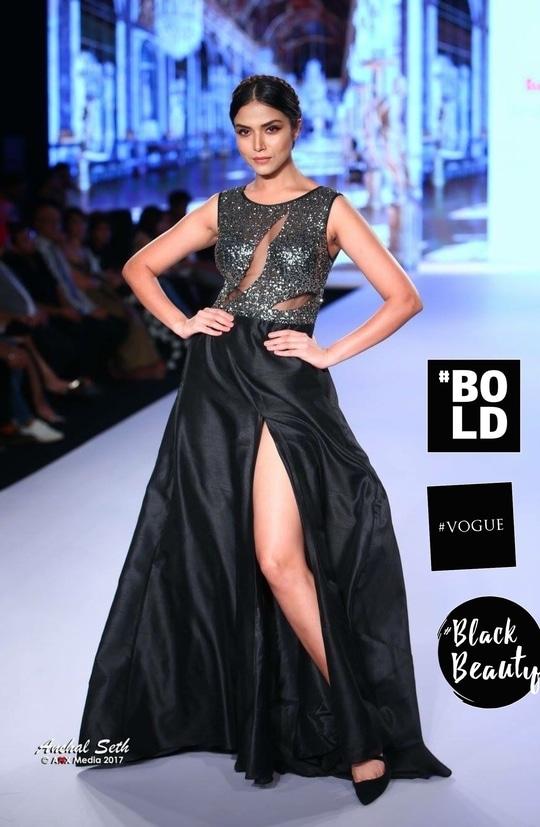 At #BTFashionweek #vogue #blackbeauty #bold