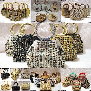 Craftstages International Presents   Bridal Handbags for wedding, gifting and special occasion (Only Wholesale)   We also make and customize the design as per the customer requirements, in addition we are based in India, Dubai and New Zealand and as well as we are one of the India's largest manufacturer, exporter, importer and bulk supplier of ladies designer bags, clutches, potli bags, box clutches, sling bags etc.   For bulk orders and queries please Call/WhatsApp at +91-9625587736, +91-8130018901, +91-9911976001 or email us at craftstagesinternational@gmail.com   #ladiesbags #potlibags #slingbags #clutchbags #designerbagsandclutches #boxclutches#ladiesdesignerbags #handmadebags #ladiesclutchbags #ladiespotlibags#designerclutches #designerpotlibags #madeinindia #traditional #indianheritage#heritage #culture #batwabags #batuabags #swachbharat #madeinbharat#womanempower #betibachaobetipadao