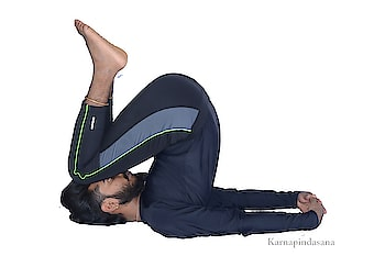 #karnapindasana  Karnapindasana   #CAUTION ✓PLEASE CONSULT YOUR YOGA TEACHER BEFORE PRACTICING ANY ASANAS IF YOU ARE BEGINNER. ✓TRY ALL POSTURES UNDER GUIDANCE OF YOUR TEACHER. (AND ENJOY THE BENEFITS)  #BENIFITS •Strengthens the arms, shoulders and wrists, and cervical and neck. •helps in curing thyroid problems •Functioning of pancreas and kidneys internal abdominal organs •boost sexual energy   #ASANAS #DAILYYOGA #BANGALOREYOGA  #indiayoga #yogaposes #yogalover  #yogaadvice  #ojasyogaacademy #yogabandhuprashanth  #yogalover #yogaflow  #instasmile #mistress #instahealthy #yogabody