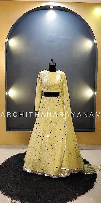 ~Soul Full Of Sunshine~ #archithanarayanamofficial #bridalcouture #designer #designerlife #designerwear #art #indianart #inspiration #india #indiancouture #wedding #indianwedding #creation #gown #yellow  #loveforyellow #sunshine #trendy #trendsetter #glimmer #fusion #fashion #fashionlove #allaboutfashion #enrichment #embroidery #handembroidery #loveoflife