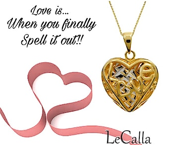 "Love pendant- ""All you need is love!!""  Gold plated silver jewellery, DM for more details.  #LeCalla #Lovependant #goldplated #silver #jewellery #contactUS #instagood #roposotalks #roposolove #exclusive #attitude #trendyjewelry #musthave #womensfashion #girlsjewelry #fashionista #fashionwear #fashionjewelry #newstyle #newin #ordernow #shopping #onlineshopping"