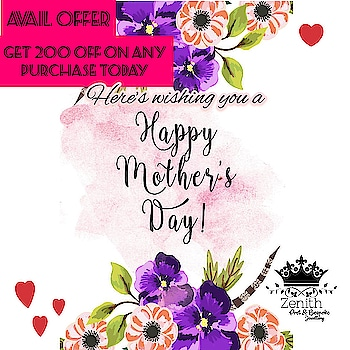 Hey guys ! It's Mother's Day and we have a special offer for you! Purchase anything today and get a direct INR 200 off.  Needless to say you can pamper your mom with one of our creations. Hope you have a loveable Mother's Day! . . 5 ・・・ +91 83369 25500 Book ur orders now  Like ✔ Share ✔ Tag ✔  Invite your friends to like our page  On Facebook: https://m.facebook.com/zenithhub/  On Instagram : https://www.instagram.com/zen_ithhh : *****For Immediate response and Price Please Inbox in our page or whatsapp us on +91 83369 25500 ***** or mail us at zzenithofficial@gmail.com  #mothersday #specialoffer  #sonamkapoor #anarkali #indian #punjabi #indiandesigner #instamumbai #indianoutfit #indianbride #pakistani #pakistanibride #chandigarh #pakistanifashion #saree #lehanga #london #dressyourface #desibeautyblog #desi  #desicouture #allthingsbridal #mumbai #bombay #bollywood #fashionista #fashion #indianwedding