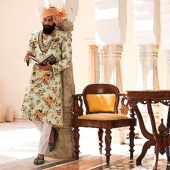 A modern take on traditional outfits.Take your wedding look up a notch with pastel shades and floral prints..!! . . . @rivesseclothing ..!! . . . . #MrRanawat #Rivesse #RivesseClothing #ethnic #indianEthnic #EthnicWear #celebrationWear #EthnicCollection #beard #beardstache #Moustache #mustache