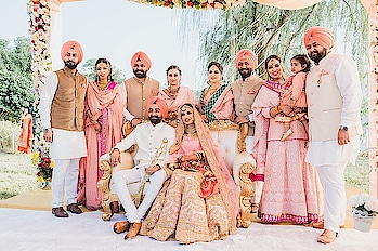 Our family. A circle of strength. Founded on faith... joined in love.. kept by God...  Photography edits: Harleen Deol Photography              #weddingasia #exhibition #ludhiana #newdelhi #bangkok #chandigarh #jaipur #indore
