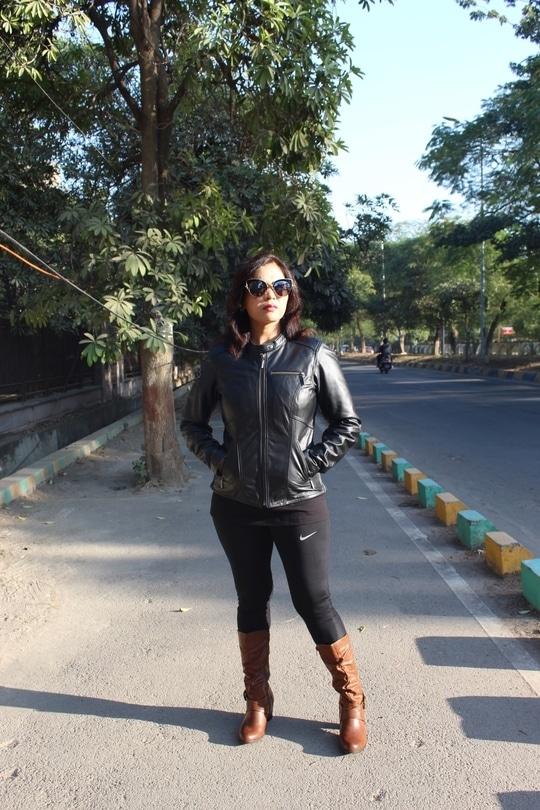 Jacket love 💖  #bespokegrub #indianblogger #lucknowblogger #fashionblogger
