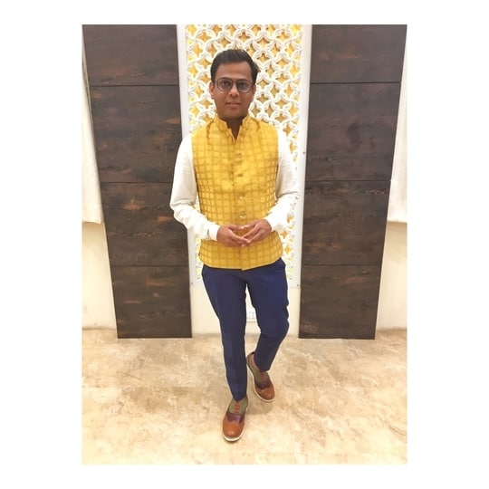 You can have anything you want.  IF YOU DRESS FOR IT. - Edith Head #printedcollar #ethnic #jacket #Indian #multicolor #koovsxyou #koovsfashion #NiteshSinghChauhan #igers #like4like #follow4follow #followme #follow #like #dapper #mensfashion #menswear #mensstyle