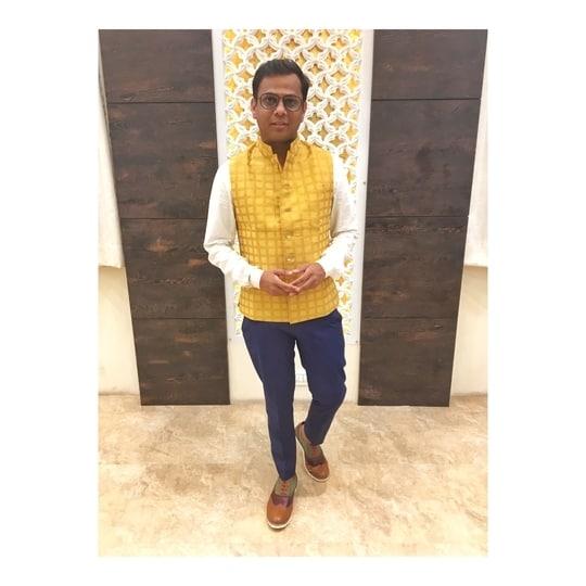 You can have anything you want.  IF YOU DRESS FOR IT. - Edith Head #printedcollar #ethnic #jacket #Indian #multicolor #koovsxyou #koovsfashion #NiteshSinghChauhan #igers #like4like #follow4follow #followme #follow #like #dapper #mensfashion #menswear #mensstyle