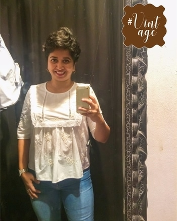 More trials !! Loved this summer cotton top from #zaraindia. It's cool and lightweight, has that right amount of detailing to add character. A favourite with blue jeans ! #styledbyenso #trialroomselfie #zara #styleblogger #styletips #summerstyle #shorthairstyles #shorthairdontcare #pixiecut #pixielove #indianfashion #indianfashionblogger #mumbaifashionblogger #lifestyleblogger #personalstyle #personalstylist #ootd #outfitinspiration #lotd #lookbook #wiw #roposogal #vintage #streetstyle