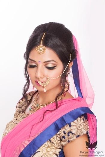 Keep Calm If I'm Your Makeup Artist 💄 #Bridalmakeup #eye-makeup #indianweddingfashion #Cutestbride #makeupjunkie #makeuplover #bridalmakeupartist #bridaldiaries #makeoversbypoojachhangani Book your makeup artist now. Contact:- +91 9168949123