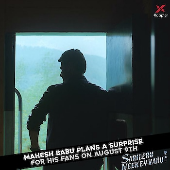 #SarileruNeekevvaruFirstLook announcement tomorrow .. #MaheshBabu #Mahesh #AnilRavipudi #Tollywood #Xappie #FirstLook #Teaser #Trailer #maheshbabu #maheshbabufans #superstarmahesh #celebrity #celebrities #celeb
