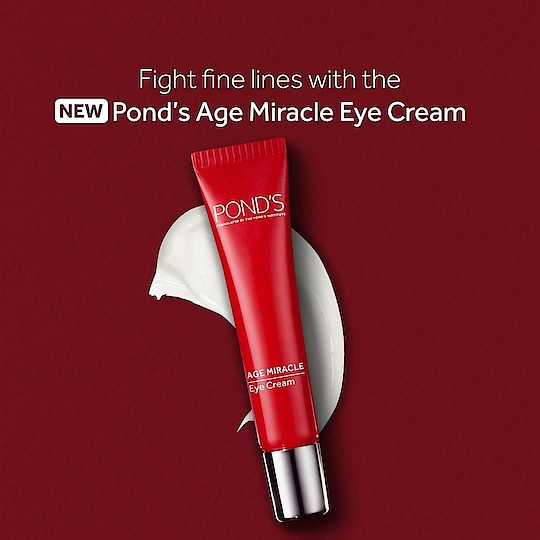 Introducing the new Pond's Age Miracle Eye Cream, your best bet for a fight against fine lines and wrinkles around the eyes!  #Ponds #PondsIndia #Beauty #Skincare #PondsAgeMiracleEyeCream