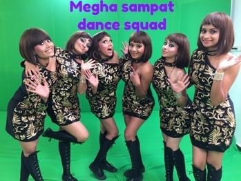 My girls for #asianettelevisionawards2017 #choreography #mypassion #mylove #mystyling #dress #style #blackandgold #blackandgolden #onepiece #dancecompany #dancecostume