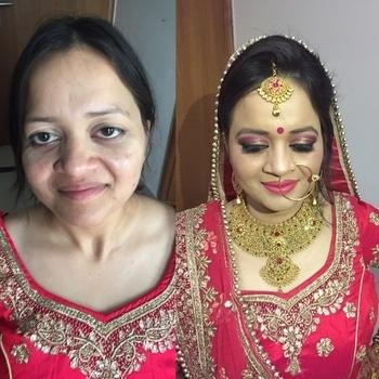 Traditional Bridal makeup for Neha on her wedding day. Makeup and hairstyle by Richa Malik's Makeovers. For makeup bookings contact 9891016653. #makeupartist #richamaliksmakeovers #richamakeupartist #bridalmakeupartist #gurgaonmakeupartist #freelancemakeupartist #bridalmakeup #indianbride #weddinglook #weddingmakeup #makeupaddict #makeuplook #mua💋 #asianmakeup #indianmakeup #makeuplover  #makeup