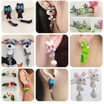 add some new trandy 👂 earrings ....