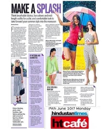 @hindustantimes @htcafe #monsoonspecial #rebeccadewan #rebeccadewanofficial #houseofrebeccadewan #fashionicon #fashionista #fashionblogger #designer #indiandesigner #beautifularticle #htcafe #hindustantimes