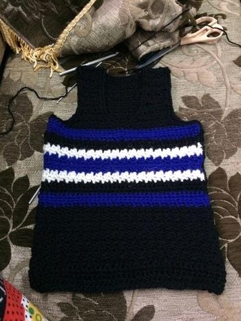 #pullover #sleeveless #crochet #crochetlove
