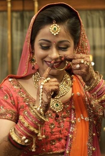 #weddingday #smileisthebestmakeup #smileisthekey #happybridesaretheprettiest