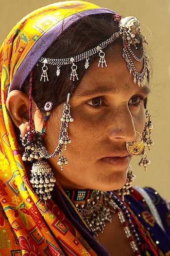 Taking #style #inspiration from a #tribal Mir #woman from #Gujarat. PC: Retlaw Snellac, Flickr #wow #amazing #love #beautiful #wanderlust #see #gameoftones #incredibleindia #photography #photooftheday #india #tribe #fashion #fashionpost