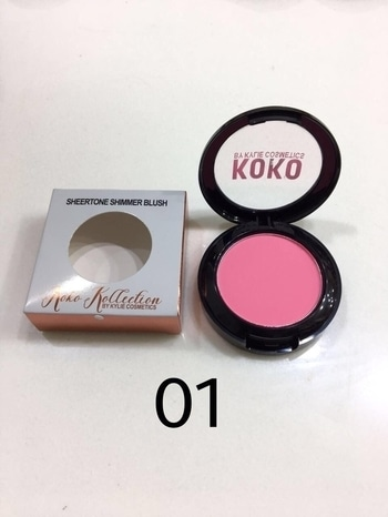KYLIE SHEERTONE SHIMMER BLUSH 👌👌👌 KOKO COLLECTION DM OR WHATS APP 8750068048 (RIA) FOR PRICE AND ORDERS... #blush #cosmetics #girlstyle #girlscosmetics #classy #instapic #instagood #instalike #followforfollow #followback #followme #instagood #womenstyle #picoftheday #brandlover #brandedstuff