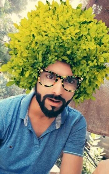 #snapchatfilter #fun #model #beard #roposo #featuring #picoftheday