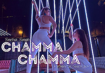 Stay Tuned 🚨for Chamma Chamma Remix, Dropping  the video soon,  We are bringing together with Something new in Bollywood Heels Choreography,  me @proneeta23 and @snehaworld (Salsa Queen) 👑, To watch our video Don't forget to subscribe 🔔 my YouTube channel .. Tag :  #proneetaswargiary #proneetavijay #proneeta #dance #collaboration #chammachamma #staytuned