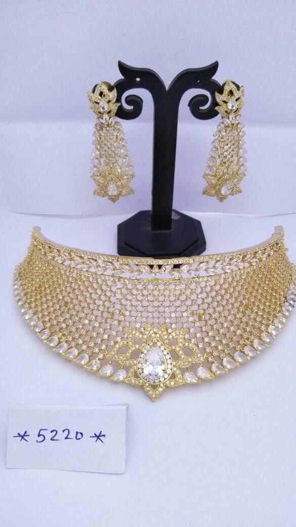 Bridal necklace @auspiciousjewelz  Follow my page: www.facebook.com/auspiciousjewelz11   For single n bulk orders:09001665996