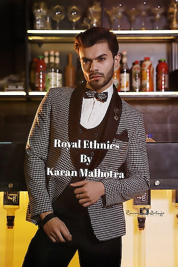 An exclusive design that takes attention off all others. A sneak peek to our showstopper garment. #exclusive #orientalprint #exotic #showstopperjacket #menswear #mensfashion #buttonup #ROYALETHNICS#KARANMALHOTRA#