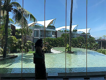 So finally m here in Bali guys. Just checked into the gorgeous @lemeridienbali hotel and I just love it to the core. And I am wondering what are the best places in Bali which I should not miss. Guys do leave in the comments below if you have some suggestions..!! I just can't wait to explore the beautiful #bali  #balilife #hotel #lemeridien #jimbaran #indonesia #jimbaranbay #pool #niskani #island #islandlife #lifeinbali  #hoppingheels #lifestyleblog #lifestyleblogger #travelblogger #travelblog #indianlifestyleblog #instatravel #indiantravelbloggers #travel