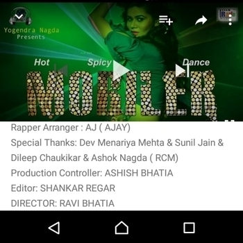 https://youtu.be/iBRrOnM1ft4 *Awaited Mobiler Song launched*. Like Subscribe and Comment. . .     *Presented by  Rave Music*. . . . . . . . . . .  .   *Very Very Urgent Requirement* . . . . . . . . . . . We *Rave moviz and entertainment and Studio Max* are looking for a *Very Good NEW Male and Female Singer for Music Albums*Those who are interested in, *making Music albums can contact me and what's app me on 9619053270 and mail me your profile at ashish.bhatia1965@gmail.com Urgently* Casting head and celebrity manager *Ashish Bhatia* at, *Rave moviz entertainment and Studio Max Goregaon West Mumbai*  . . ., *Please Forward this message to your other group also Thanks