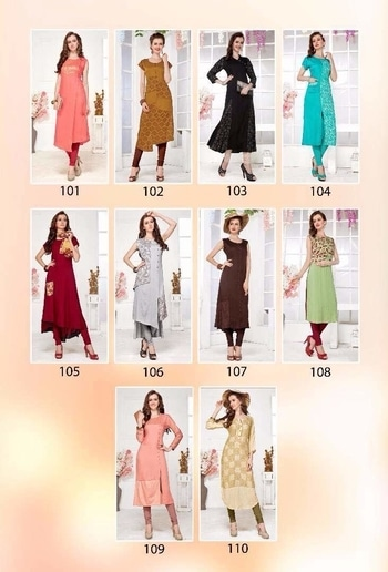 Brand - Kanika . Type - Kurti . * set to set * Delivery- 25-05-17. Book your order now. * catlog name * - Vaani .