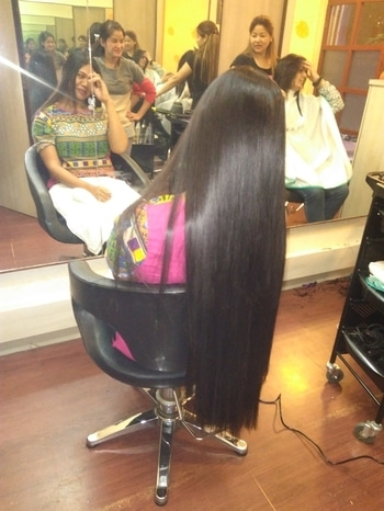 Follow me on YouTube for Hair Care Tips  Subscribe to Sushmita's Diaries 👈 #hair #beauty #longhair #rapunzel