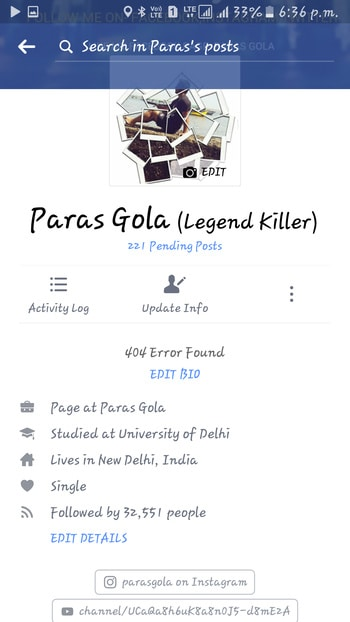 😲 shocked pata hi nahi chla kab 30k followers ho gye facebook pe 🤗🤗🤗😊😊😋 OPEN IN APP  Paras Gola Follow 1d  506 Views  5.0k view's  #trands #tranding #tranditional #trand #trendy #trending #trendingfashion #trendingnow #trendinglive #trendinglive  #trendingonroposo #trendingred  #rotang #ice #snowfall #snow #snowing  #hillstation #hillyhimachal #himachal #himalayas #himachalpradesh #himalaya #week #weeks #followers #woohoo #700  #pyar #pyaar #pyarhogaya #pyartunekyakiya #sachapyaar #sacha  #3years #3yrold #3yrsold #3yrsback  #green #tshirt #tshirtdress #tshirtlover #tshirtlove #long #longhair #hair #haircare #natural-hair #hairdo #inspired #inspo #inspiration #shocking #shocked #trip #enjoyng  #travelling  #pictureoftheday #desi #shopping #sale #mumbai #fun #roposodaily #photography #selfieoftheday #makeup #thelabelbazaar #roposo #beauty #fashion #ethnic #roposolove #soroposo #ootd #style #newdp #lovin #gentleman #next #gentleman #mans #man #goodlooking #looklikethis#pic-click #portfolio #pisces #selfie #selfieoftheday #selfiemoment #handsome #handsomeever #styles #cool #hot #hotness #hottest #coolstuff #snapchat #chat #chating #snapdeal #snapdeal #harleydavidson #harley #davidson #mussoorie #mussooriediaries #iphoneonly  #android #indianbag #insiandress #indian  #drinks #indianblogger #indianvlogger  #indianbloggersroposo #love #instagood #me #cute #tbt #photooftheday #instamood #iphonesia #tweegram #picoftheday #igers #girl #beautiful #instadaily #summer #instagramhub #iphoneonly #follow #igdaily #bestoftheday #happy #picstitch #tagblender #jj #sky #nofilter #fashion #followme #fun #sun#mall #hotel #lunchtime #newdp #camera #gym #gymlife  #workout #bodybuilding  #body  #mrdelhi #mrindia  #facebook #blogger  #socialmedia  #instagram #facebooklikes #request  #lifestyle #bollywood #bollywood #picsart #create #workout #workfashion #workmode #workshop #workoutclothes #love #instagood #photooftheday #tbt #cute #beautiful #me #followme #happy #follow #fashion #selfie #picoftheday #like4like #girl #tagsforlikes #instadaily #friends #summer #fun #smile #igers #instalike #likeforlike #repost #food #instamood #follow4follow #art #style #amazing #family #nature #nofilter #life #instagram #vscocam #followforfollow #fitness #swag #sun #f4f #l4l #beauty #pretty #music #sky #beach #hair #photo #lol #vsco #cool #dog #girls #travel #party #sunset #تصويري #iphoneonly #night #webstagram #funny #baby #cat #foodporn #ootd #followback #makeup #hot #instasize #instapic #my #iphonesia #black #instacool #pink #instafollow #blue #yummy #instalove #model #healthy #likes #igdaily #photography #gym #wcw #red #work #awesome #motivation #sweet #nice #birthday #new #eyes #all_shots #throwback #blackandwhite #fit #fitmen #fittings #fitnessmotivation #usa #us #uae #indian #england #newyork #australia #asseenonme #amazon #amritsar #delhi #delhitimes #delhiblog #delhiboy #run #runway #running #runwayfashion #runwayrising #runningshoes #runs #brightsun#clouds #cloud #cloudporn #TagsForLikes #TagsForLikesApp #weather #lookup #sky #skies #skyporn #cloudy #instacloud #instaclouds #instagood #nature #beautiful #gloomy #skyline #horizon #overcast #instasky #epicsky #crazyclouds #photooftheday #cloud_skye #skyback #insta_sky_lovers #iskyhub#rain #raining #rainyday #TagsForLikes #TagsForLikesApp #pouring #rainydays #water #clouds #cloudy #photooftheday #puddle #umbrella #instagood #gloomy #rainyweather #rainydayz #splash #TFLers #downpour #instarain#summer #summertime #sun #TagsForLikes #hot #sunny #warm #fun #beautiful #sky #clearskys #season #seasons #instagood #instasummer #photooftheday #nature #TFLers #clearsky #bluesky #vacationtime #weather #summerweather #sunshine #summertimeshine#spring #blossom #flowers #TagsForLikes #beautiful #season #seasons #instaspring #instagood #springtime #color #ilovespring #warm #sunny #sun #tree #pretty #TFLers #trees #flower #bloom #colorful#winter #cold #holidays #TagsForLikes #TagsForLikesApp #snow #rain #christmas #snowing #blizzard #snowflakes #wintertime #staywarm #cloudy #instawinter #instagood